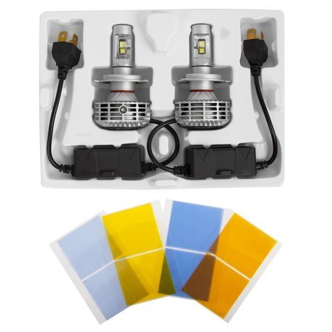 Набір світлодіодного головного світла UP-6HL (H4, 3000 лм, сумісний з CAN-шиною) Прев'ю 1