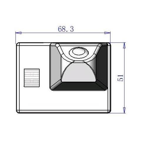 Автомобильная камера заднего вида для Toyota Land Cruiser 100/200 Превью 1