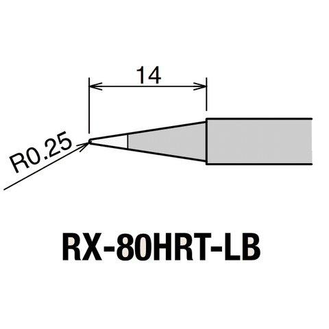 Паяльне жало GOOT RX-80HRT-LB Прев'ю 1