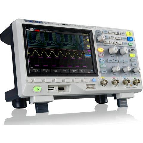 Цифровий осцилограф SIGLENT SDS1204X-E Прев'ю 1