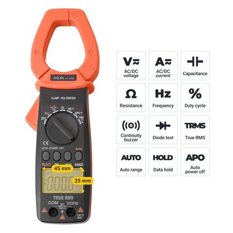 Digital Clamp Meter Accta AT-1000E Preview 2